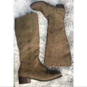 JustFab Knee High Boots Women Size 9